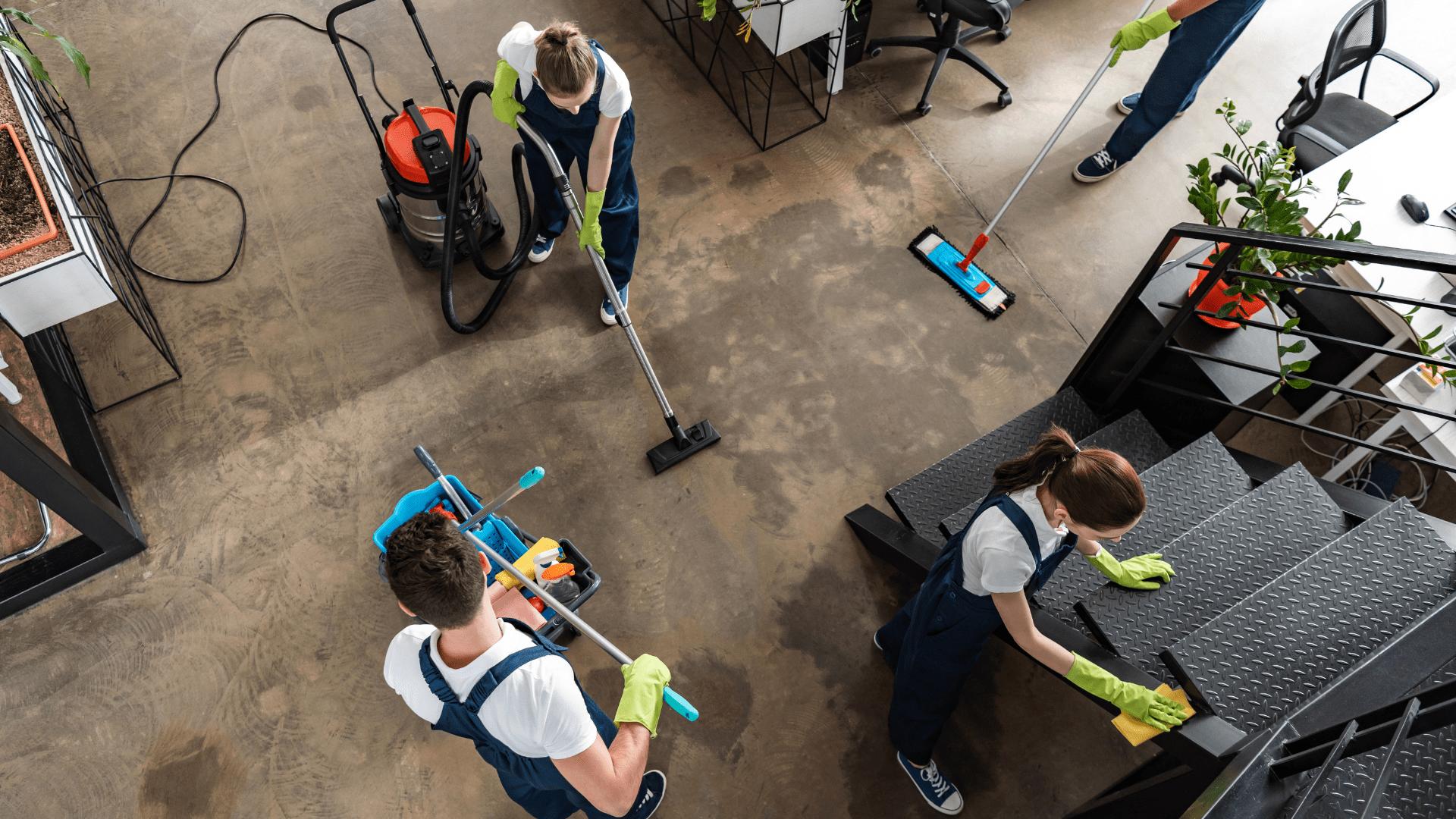 Servizio di pulizia di edifici a Milano